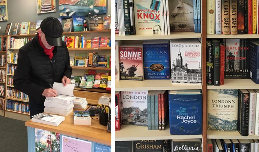 Stuart Signing Books at Ivy's Bookshop December 20, 2017